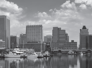 baltimore-harbor-bw